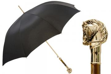Golden Horse Umbrella   Handmade in Italy