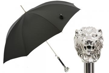Silver Lion Umbrella