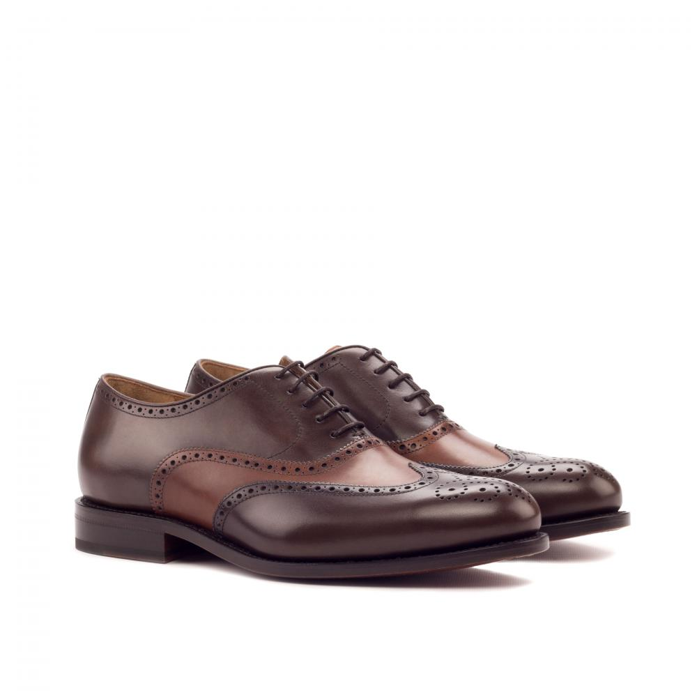 pantofi oxford full brogue